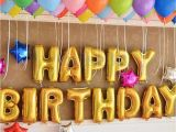 Happy Birthday Decoration Items 13pcs Quot Happy Birthday Quot Letters Foil Balloons for Birthday