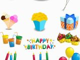 Happy Birthday Decoration Items Birthday Vector Graphics Blog