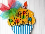 Happy Birthday Decoration Items Happy Birthday Sign Birthday Door Decor Happy Birthday Door