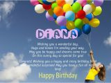 Happy Birthday Diana Quotes Birthday Congratulations for Diana