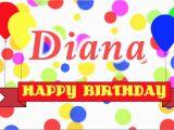 Happy Birthday Diana Quotes Happy Birthday Diana song Youtube