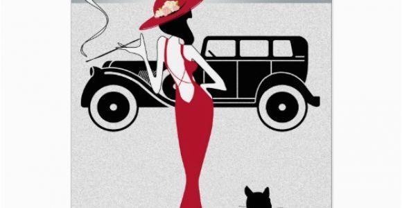 Happy Birthday Diva Cards Happy Birthday Diva Card Elegant Woman Zazzle Com