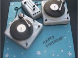 Happy Birthday Dj Card Cake Decks Electronic Dance Music Edm Pinterest