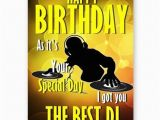 Happy Birthday Dj Card Got You the Best Dj Funny Novelty A5 Happy Birthday Card