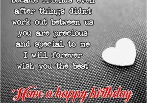 Birthday happy wishing ex 2021 Heartfelt