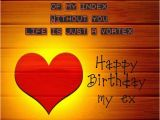 Happy Birthday Ex Wife Cards Birthday Wishes for Ex Girlfriend Cards Wishes