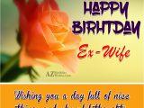 Happy Birthday Ex Wife Cards Birthday Wishes for Ex Wife