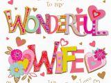 Happy Birthday Ex Wife Cards Wishing My Wonderful Wife Happy Birthday Greeting Card
