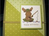 Happy Birthday Fishing Cards Happy Birthday Card with Fishing Riley Cards Stampin