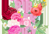 Happy Birthday Flowers Clipart Happy Birthday with Flowers Png Clip Art Gallery
