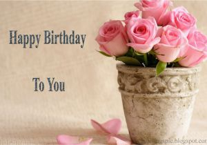 Happy Birthday Flowers for Him Happy Birthday Cake and Flowers Images Greetings Wishes