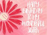Happy Birthday Flowers for Sister Happy Birthday to Sister with Red Flower Free for Brother