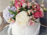 Happy Birthday Flowers In Box 60 Best Images About Hat Box Flowers On Pinterest