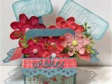 Happy Birthday Flowers In Box 7 Best Images About Card In A Box On Pinterest Happy
