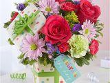 Happy Birthday Flowers In Box Birthday Gifts Delivered Birthday Delivery 1800flowers Com