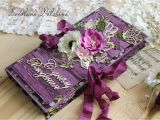 Happy Birthday Flowers In Box Chocolate Quot Happy Birthday Quot Gift Box Purple Shop Online