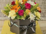 Happy Birthday Flowers In Box Flowers for A Man Flowers Ideas for Review