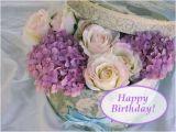 Happy Birthday Flowers In Box Happy Birthday Happy Birthday Pinterest Glucklich