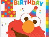 Happy Birthday From Elmo Singing Card Elmo 1st Birthday Table Cover