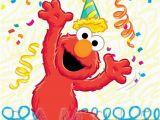 Happy Birthday From Elmo Singing Card Hanging Off the Wire Happy Birthday Elmo
