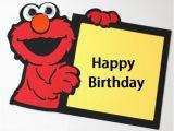 Happy Birthday From Elmo Singing Card Happy Birthday Wishes with Elmo