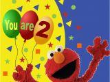 Happy Birthday From Elmo Singing Card Personalised Elmo Birthday Card