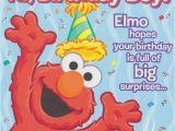 Happy Birthday From Elmo Singing Card Sesame Street Elmo Happy Birthday Greeting Card 1ct Party