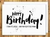 Happy Birthday Funny Video Card Funny Birthday Card Birthday Card for Him Birthday Card