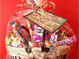 Happy Birthday Gift Baskets for Her 50th Birthday Candy Basket and Poem An Affair From the Heart