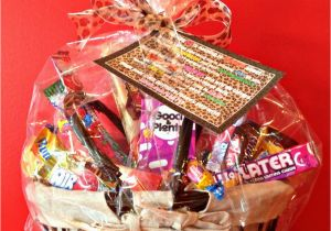 Happy Birthday Gift Baskets For Her 50th Candy Basket And Poem An Affair From The