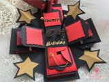 Happy Birthday Gifts for Him Red Exploding Photo Box Explosion Box Christmas Gift