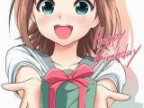 Happy Birthday Girl Animation Happy Birthday Anime Bday Pinterest Eyes