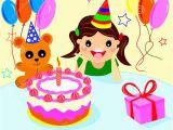 Happy Birthday Girl Pic Happy Birthday Girls Stock Vector Image Of Illustration