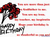 Happy Birthday Godfather Quotes Godfather Birthday Quotes Quotesgram