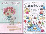 Happy Birthday Godmother Cards Godmother Happy Birthday From Godson Goddaughter Boy Girl