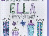 Happy Birthday Godmother Cards Personalised Godmother Birthday Card by Claire sowden