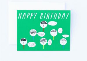 Happy Birthday Golf Quotes Golf Birthday Card Birthday Card Funny Golf Card Golfig