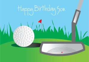 Happy Birthday Golf Quotes Happy Birthday son Facebook Quotes Quotesgram