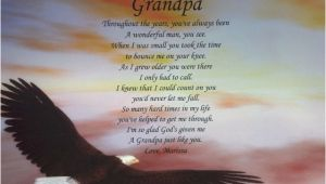 Happy Birthday Grandpa Quotes Poems Grandpa Poem Birthday Father 39 S Day or Christmas Gift