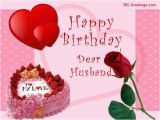 Happy Birthday Greeting Card for My Husband Birthday Cards Easyday