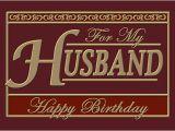 Happy Birthday Greeting Card for My Husband Happy Birthday Husband Quotes Quotesgram