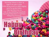 Happy Birthday Greetings Quotes Tagalog Happy Birthday In Tagalog Greetings Birthday Greetings