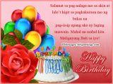 Happy Birthday Greetings Quotes Tagalog Tagalog Birthday Wishes 365greetings Com
