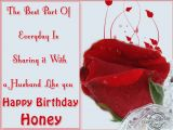 Happy Birthday Honey Quotes A Husband Like You Happy Birthday Honey Wishes Message