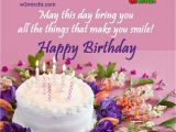 Happy Birthday Images for Friend with Quote Happy Birthday Quotes Facebook Wall Birthday Cookies Cake