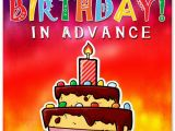 Happy Birthday In Advance Quotes Happy Birthday In Advance