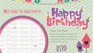 Happy Birthday Invites Template 22 Beautiful Kids Birthday Invitations Free Psd Eps