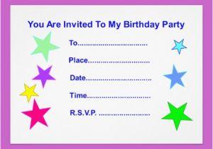 Happy Birthday Invites Template 40th Ideas Invitation Card