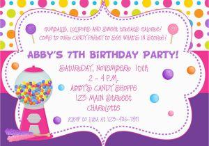 Happy Birthday Invites Template Birthday Invitation Happy Birthday