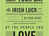 Happy Birthday Irish Quotes May Your Day Be touched by A Bit Of Irish Luck Pictures